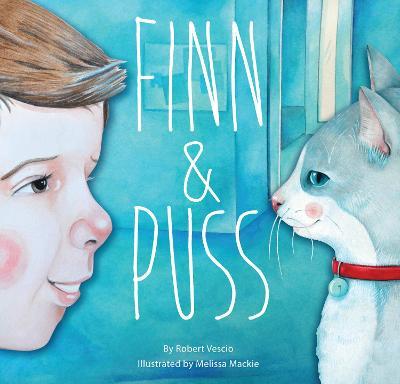 Finn and Puss by Robert Vescio