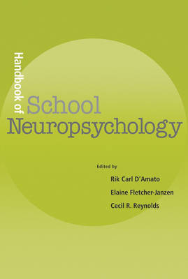 Handbook of School Neuropsychology book