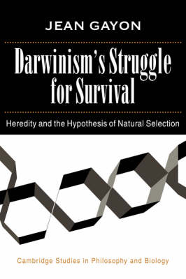Darwinism's Struggle for Survival book