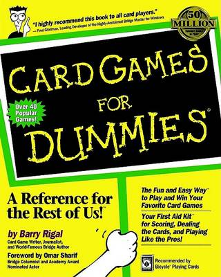 Card Games For Dummies by Barry Rigal