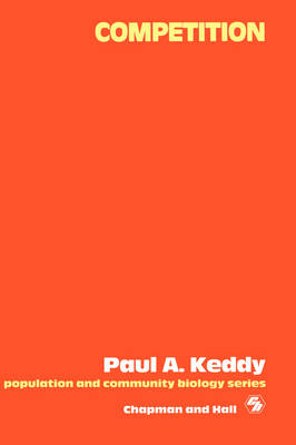 Competition by Paul Keddy