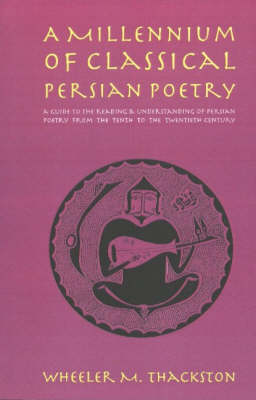 Millennium of Classical Persian Poetry by W. M. Thackston