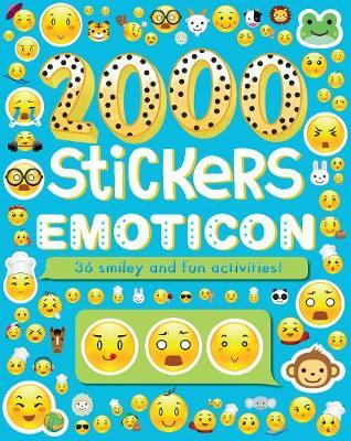 2000 Stickers Emoticon by Parragon Books Ltd