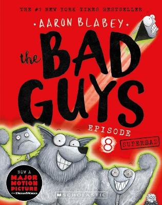 The Bad Guys Episode 8: Superbad plus Trading Cards book