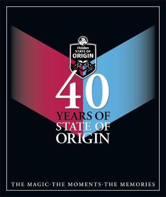 40 Years of State of Origin book