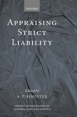 Appraising Strict Liability book