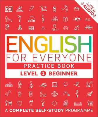 English for Everyone Practice Book Level 1 Beginner by DK