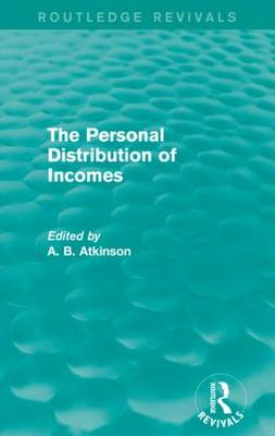 Personal Distribution of Incomes book