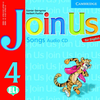 Join Us for English 4 Songs Audio CD book