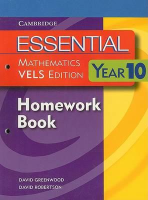 Essential Mathematics VELS Edition Year 10 Homework Book by David Greenwood