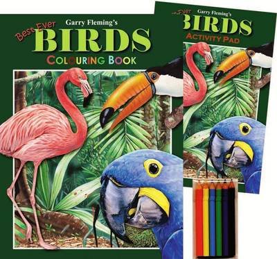 Garry Fleming's Birds Activity Pack by Garry Fleming