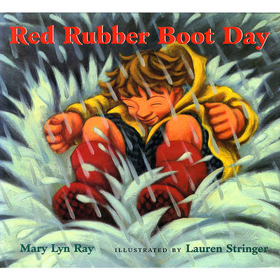 Red Rubber Boot Day book