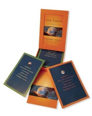 New Earth Card Deck by Eckhart Tolle