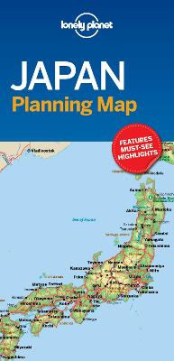 Lonely Planet Japan Planning Map book
