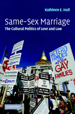 Same-Sex Marriage by Kathleen E. Hull