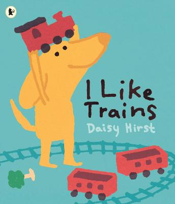 I Like Trains book