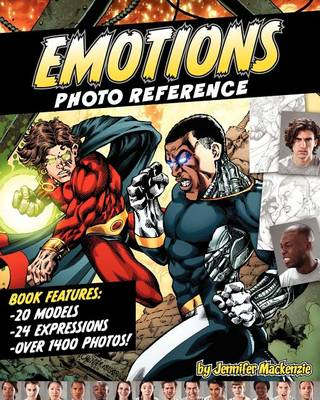 Emotions Photo Reference for Illustrators & Artists Volume 1 by K. Mackenzie