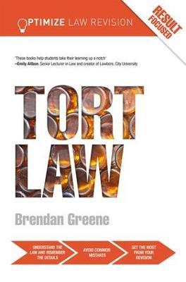 Optimize Tort Law by Brendan Greene