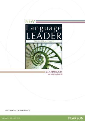 New Language Leader Pre-Intermediate Coursebook with MyEnglishLab Pack by Gareth Rees