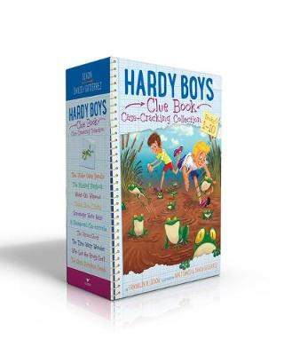 Hardy Boys Clue Book Case-Cracking Collection: The Video Game Bandit; The Missing Playbook; Water-Ski Wipeout; Talent Show Tricks; Scavenger Hunt Heist; A Skateboard Cat-astrophe; The Pirate Ghost; The Time Warp Wonder; Who Let the Frogs Out?; The Great Pumpkin Smash by Franklin  W. Dixon
