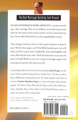 Powerful Prayers for your Marriage by David Kopp