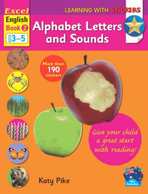 Alphabet Letters and Sounds by Katy Pike