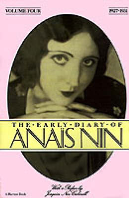 Early Diary of Anais Nin: 1927-1931 book
