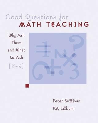 Good Questions for Math Teaching book