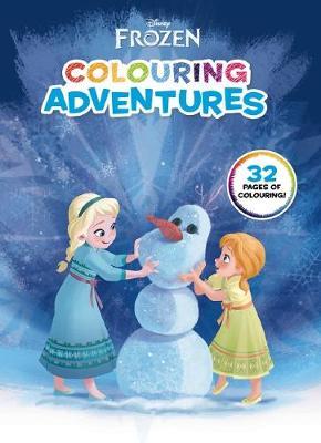 Disney: Frozen Colouring Adventures book