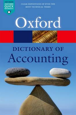 A Dictionary of Accounting by Jonathan Law