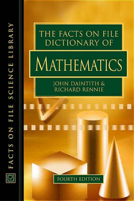 Dictionary of Mathematics by John Daintith