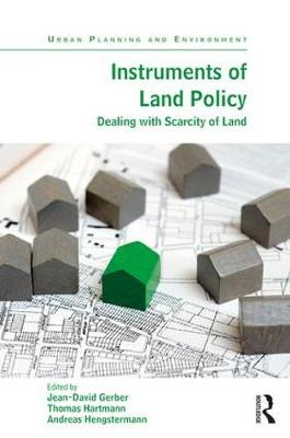 Instruments of Land Policy by Jean-David Gerber