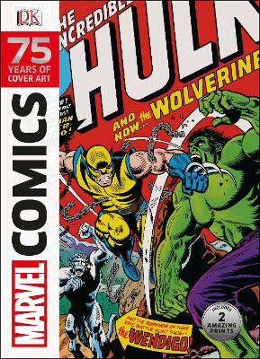 Marvel Comics 75 Years Of Cover Art book