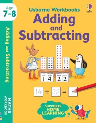 Usborne Workbooks Adding and Subtracting 7-8 by Holly Bathie