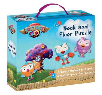 ABC Kids Hoot Hoot Go!: Book and Floor Puzzle by ABC KIDS