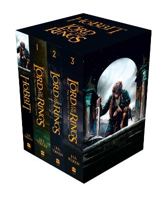 The Hobbit and The Lord of the Rings: Boxed Set by J. R. R. Tolkien