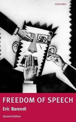Freedom of Speech by Professor Eric Barendt
