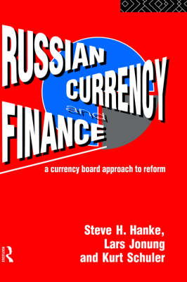 Russian Currency and Finance book