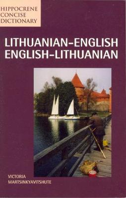 Lithuanian-English / English-Lithuanian Concise Dictionary book