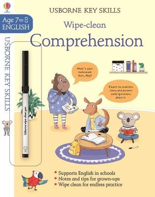 Wipe-Clean Comprehension 7-8 by Caroline Young