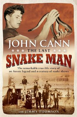 Last Snake Man book