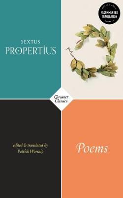 Poems by Sextus Propertius