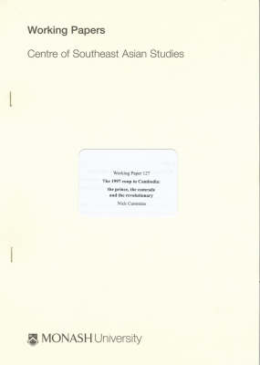 The 1997 Coup in Cambodia by Nick Cummins
