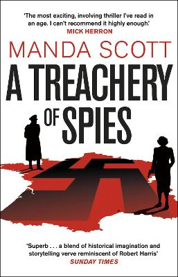 A Treachery of Spies: The Sunday Times Thriller of the Month book