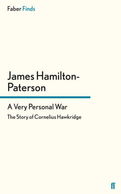 A Very Personal War by James Hamilton-Paterson
