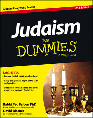 Judaism for Dummies, 2nd Edition by Rabbi Ted Falcon