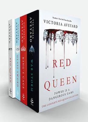Red Queen 4 Book Flexibox Set by Victoria Aveyard
