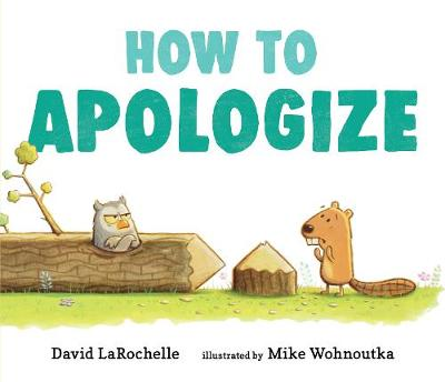 How to Apologize book