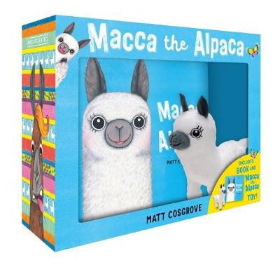Macca the Alpaca Plush Box Set by Matt Cosgrove