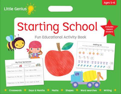 Little Genius Mega Pad Starting School book